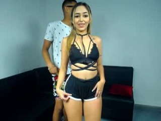 better_4_you She has her mans meat in mouth and a dildo in her wet anal