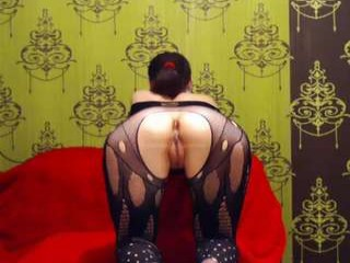 asiamixx Young brunette fucked in the room with pink walls.